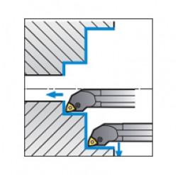 Skärhållare invändigbearbetning för WNMG