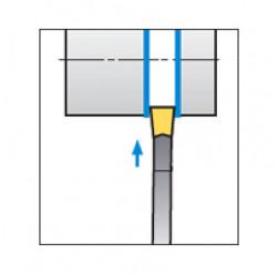 Skärhållare utvändig avstickning för SP
