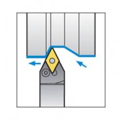 Skärhållare utvändigbearbetning för DNMG