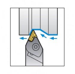 Skärhållare utvändigbearbetning för KNUX