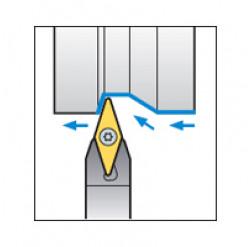 Skärhållare utvändigbearbetning för VCGT & VCMW