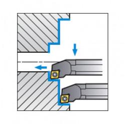 Skärhållare invändigbearbetning för CCMT & CCGT