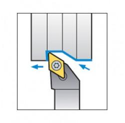 Skärhållare utvändigbearbetning för DCMT & DCGT