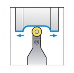 Skärhållare utvändigbearbetning för RCMX