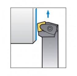 Skärhållare utvändigbearbetning för CNMG