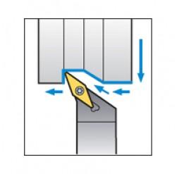 Skärhållare utvändigbearbetning för VBMT & VBGT