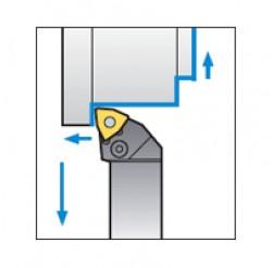 Skärhållare utvändigbearbetning för WNMG