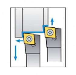 Skärhållare utvändigbearbetning för CCMT & CCGT