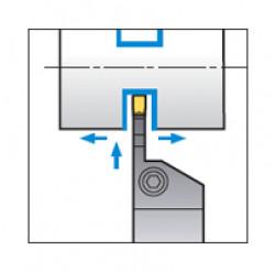 Skärhållare utvändig avstickning för KGMN